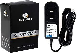 ANTOBLE 6.5ft Cord AC Adapter for Barnes & Noble eReader Nook Color BNRV300 BNRV350 BNRV100 BNRV200 BNTV250 BNTV250a BNRZ100 BNRV500