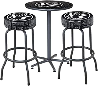Jack Daniel Repeat Cafe Table and Bar Stools