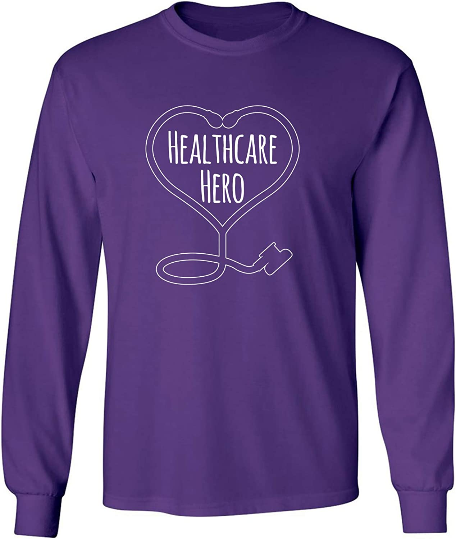 zerogravitee Healthcare Hero Adult Long Sleeve T-Shirt