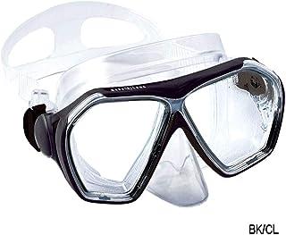 アクアラング(AQUALUNG) ニーナマスク BK/CL 広い視界で安心 男女兼用 225010