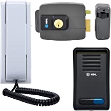 Interfone Residencial HDL F8SN Graphil Com Fechadura Elétrica C-90 Externa