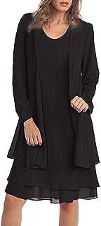 Women's Plus-Size Chiffon Jacket Dress Mother of The Bride Dress Suit
