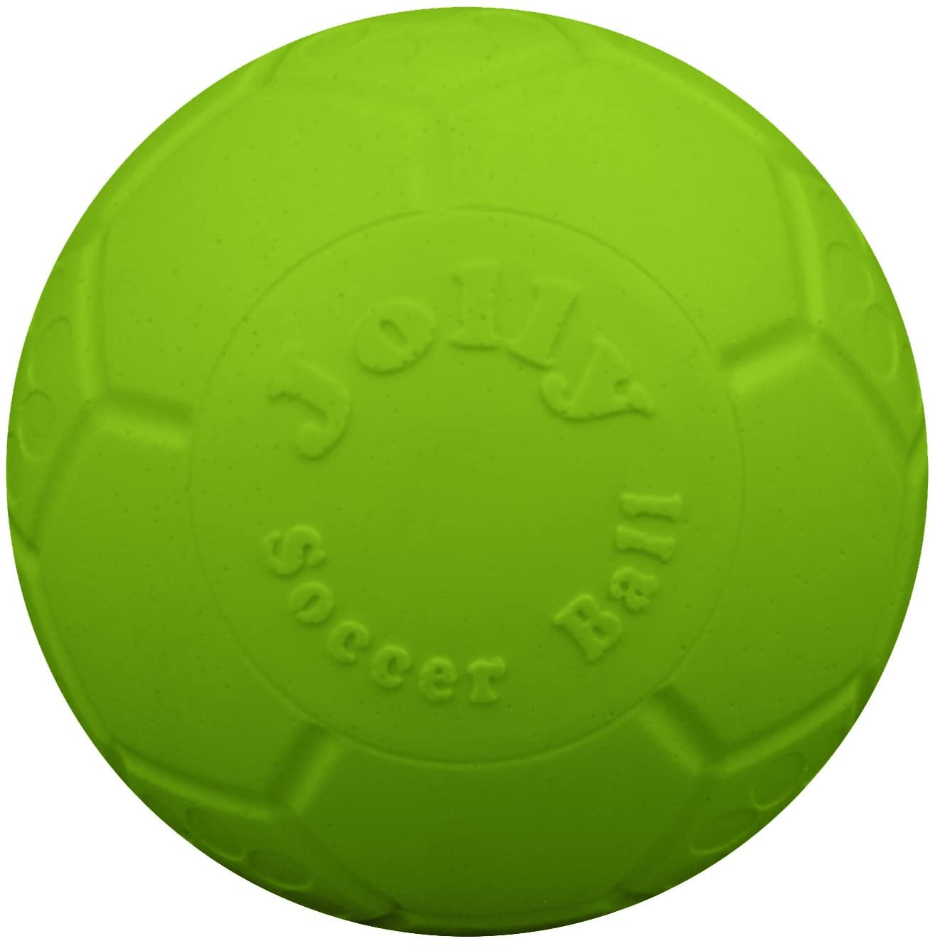 Pet Supplies : Jolly Pets Large Soccer Ball Floating-Bouncing Dog Toy, 8 inch Diameter, Apple Green :