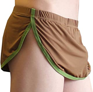 JnZeBly Men Funny Sexy Split Skirt Arpon Design Thong G-Strings Panties