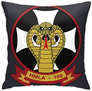 1st Marine Division Marine Light Attack Helicopter Squadron Pillow Case Pillow Case Sofa Home Decoration 18