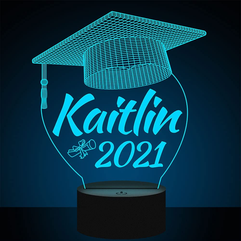 Personalized Graduation Lamp Special price Gifts for Her Class Him of sale or 202