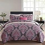 NEWLAKE Cotton Bedspread Quilt Sets-Reversible Patchwork Coverlet Set,...