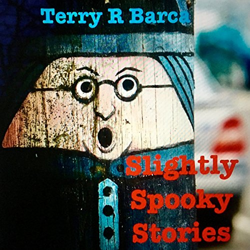 Slightly Spooky Stories audiobook cover art