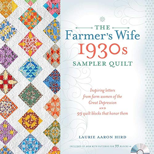 Farmers Wife 1930s Sampler Quilt - Softcover