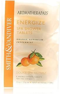 Aromatherapaes Energize Spa Shower Tablets 6 Tablets/4.8oz