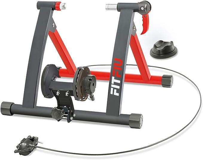 103 opinioni per FITFIU Fitness ROB-10 Rullo per Bicicletta Pieghevole con Resistenza Magnetica,
