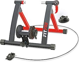 FITFIU Fitness ROB-10 Rodillo Entreno para Bicicleta, Unisex Adulto, Negro, 50x20x50 cm