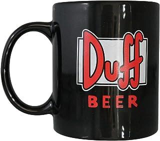 Taza de Los Simpsons, diseño de la cerveza Duff