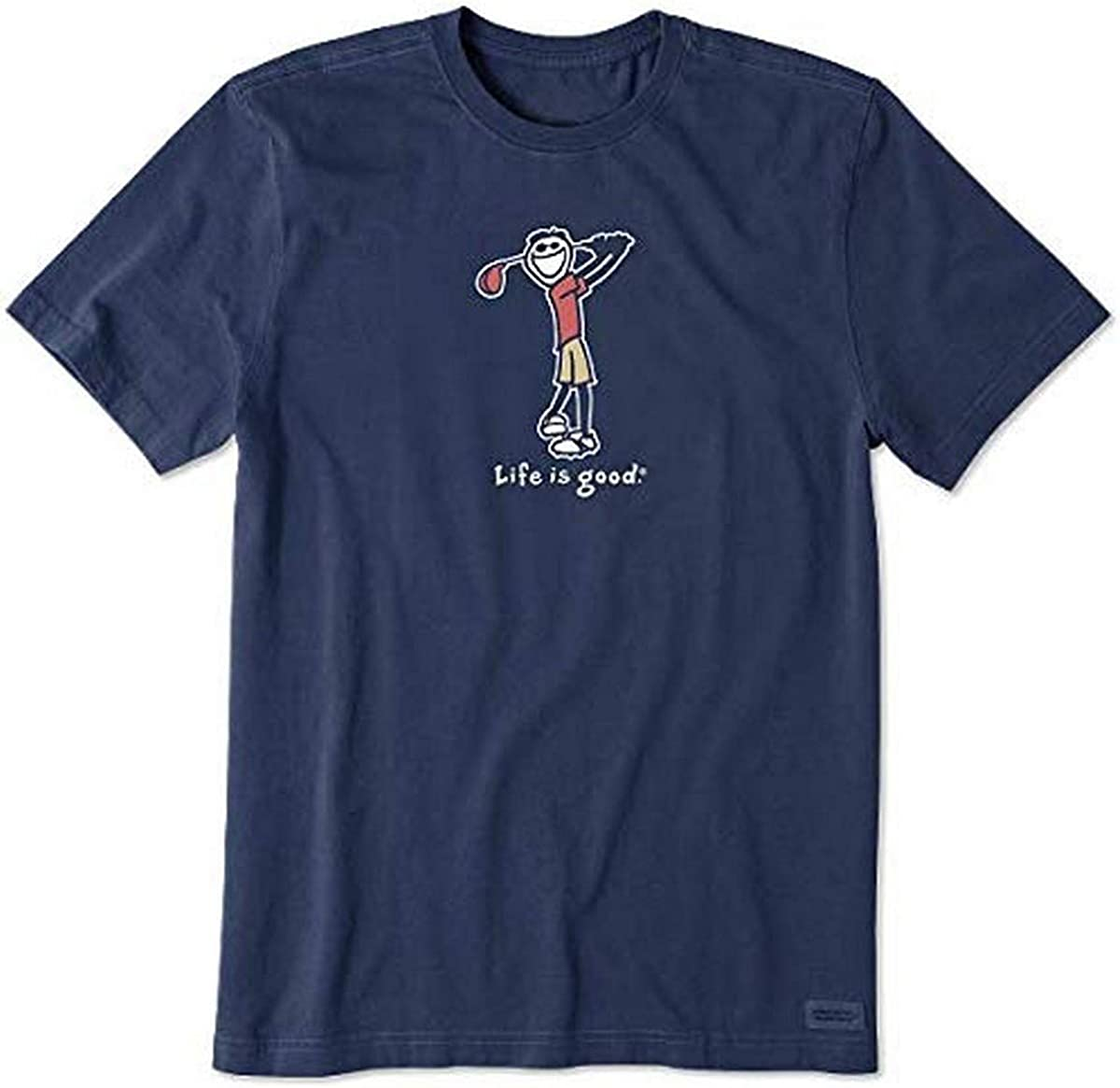 half Life is Good Men's Vintage Crusher New products, world's highest quality popular! Graphic Jake T-Shirt Golf