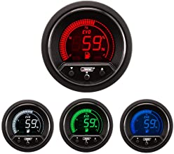 NEW Fuel level Gauge-electrical Digital Green/white/red/blue Premium EVO Series 52mm (2 1/16)