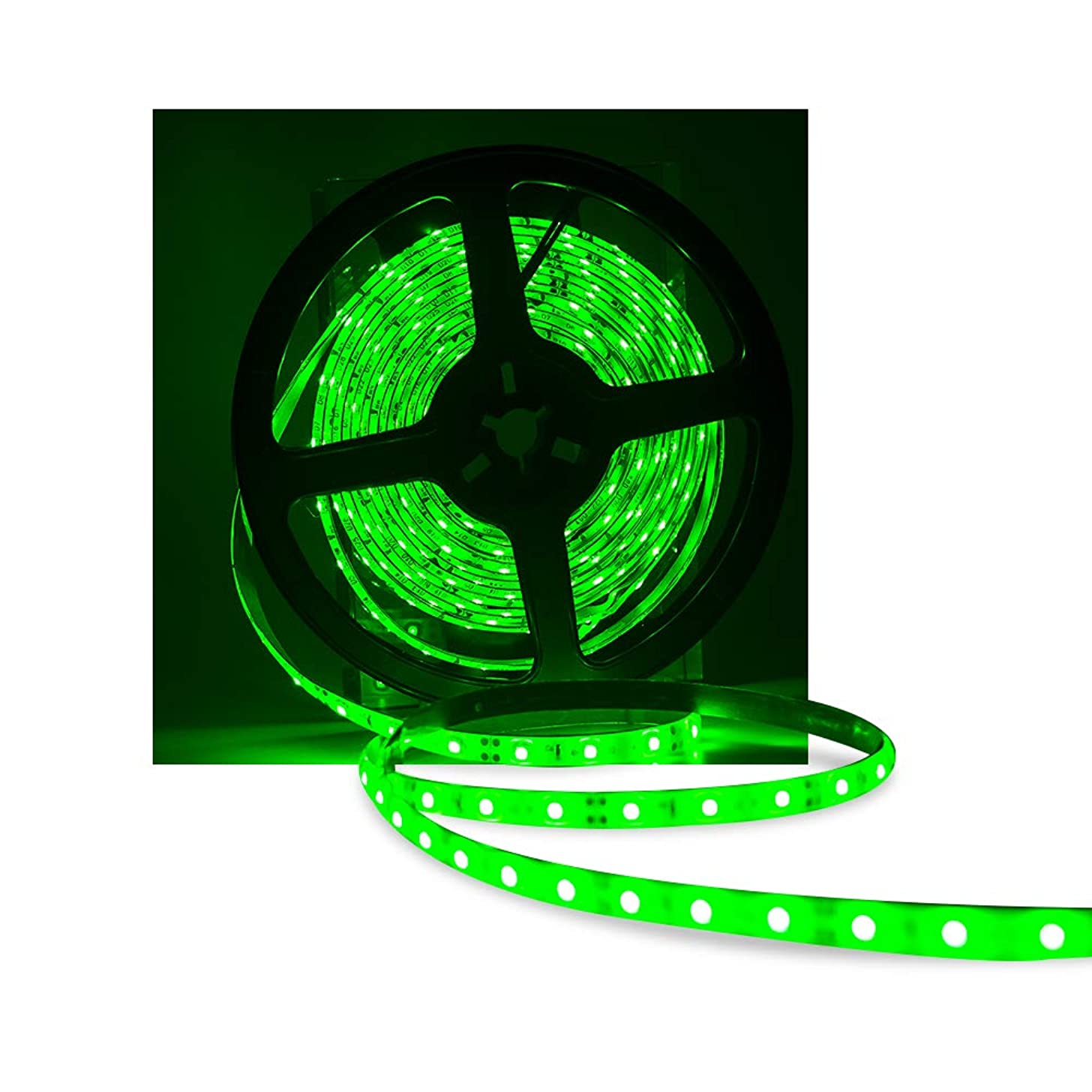 XINKAITE Waterproof IP65 Led Strip Lights, 3528 16.4 Ft (5M) 300leds 60leds/m, Flexible LED Light Tape for Boats, Bathroom, Mirror, Ceiling, and Outdoor Use, Power Supply not Included