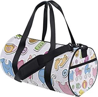 Baby Items Travel Duffle Bag Sports Luggage with Backpack Tote Gym Bag for Man and Women