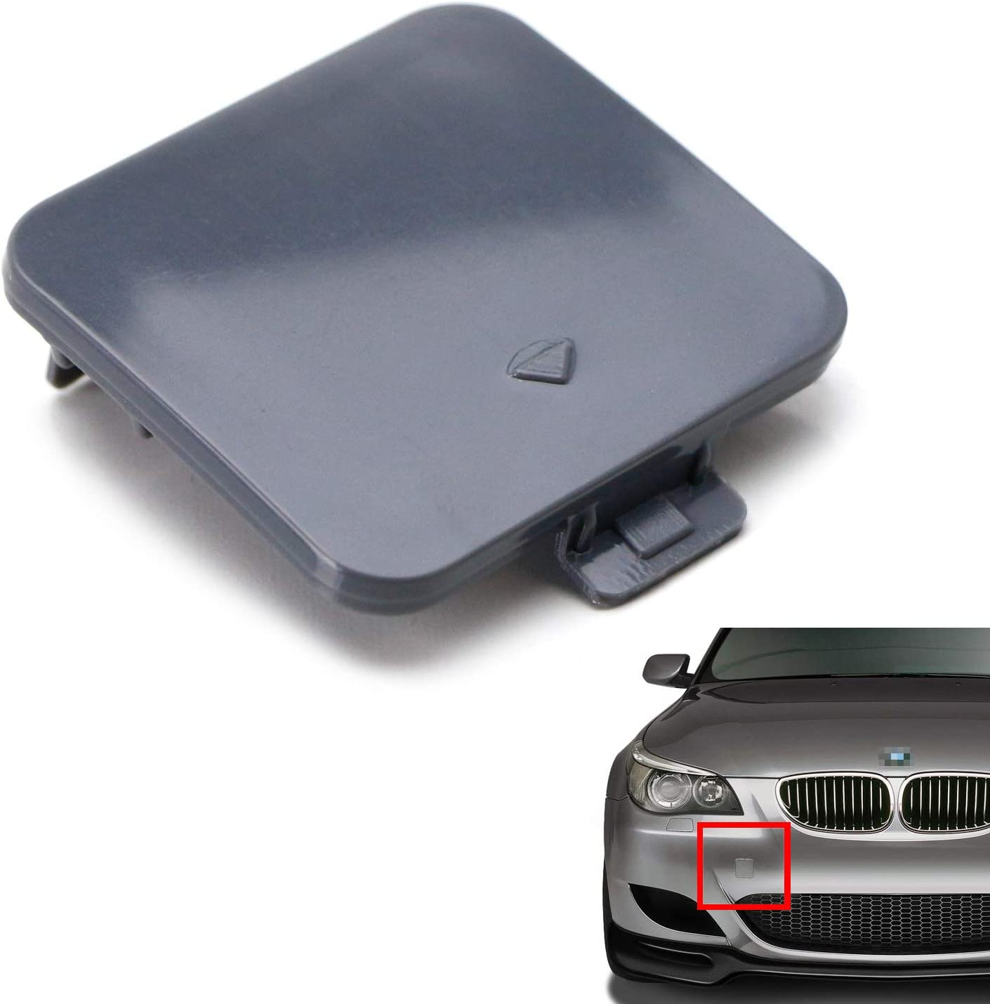 Max 52% OFF iJDMTOY Superior Front Bumper Tow Hook W Replacement Compatible Cover Cap