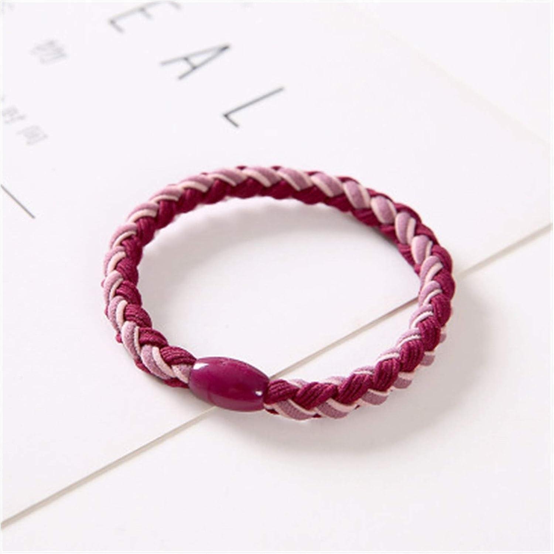 Tlwangl Hair Scrunchie Women Two-Color Ring Ranking Max 44% OFF TOP17 Braid Twist Hig