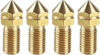 Ugello Volcano Ugello 5 pezzi M6 1,75 mm Estrusore in acciaio inossidabile//ottone 0,2//0,3//0,4//0,5//0,6 mm per testina di stampa 3D Baugger