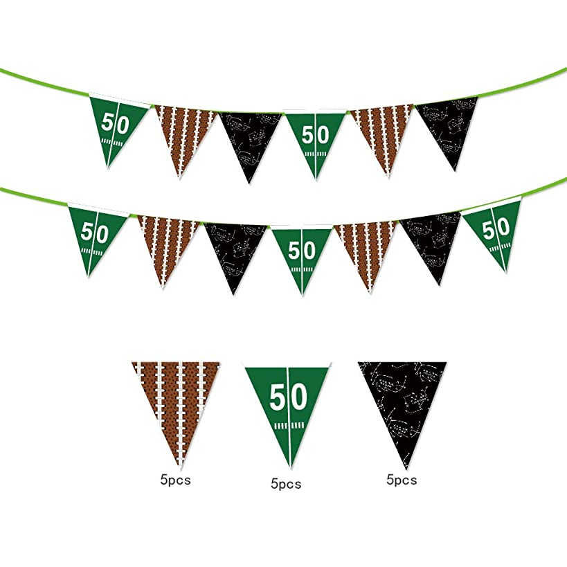 Sport Theme String Flags Banners decoration/American Football Flags,American Football Flags,Happy Birthday Party Pennant Banner for Olympics,Bar,Sports Clubs,Festival,Party Events Decorations