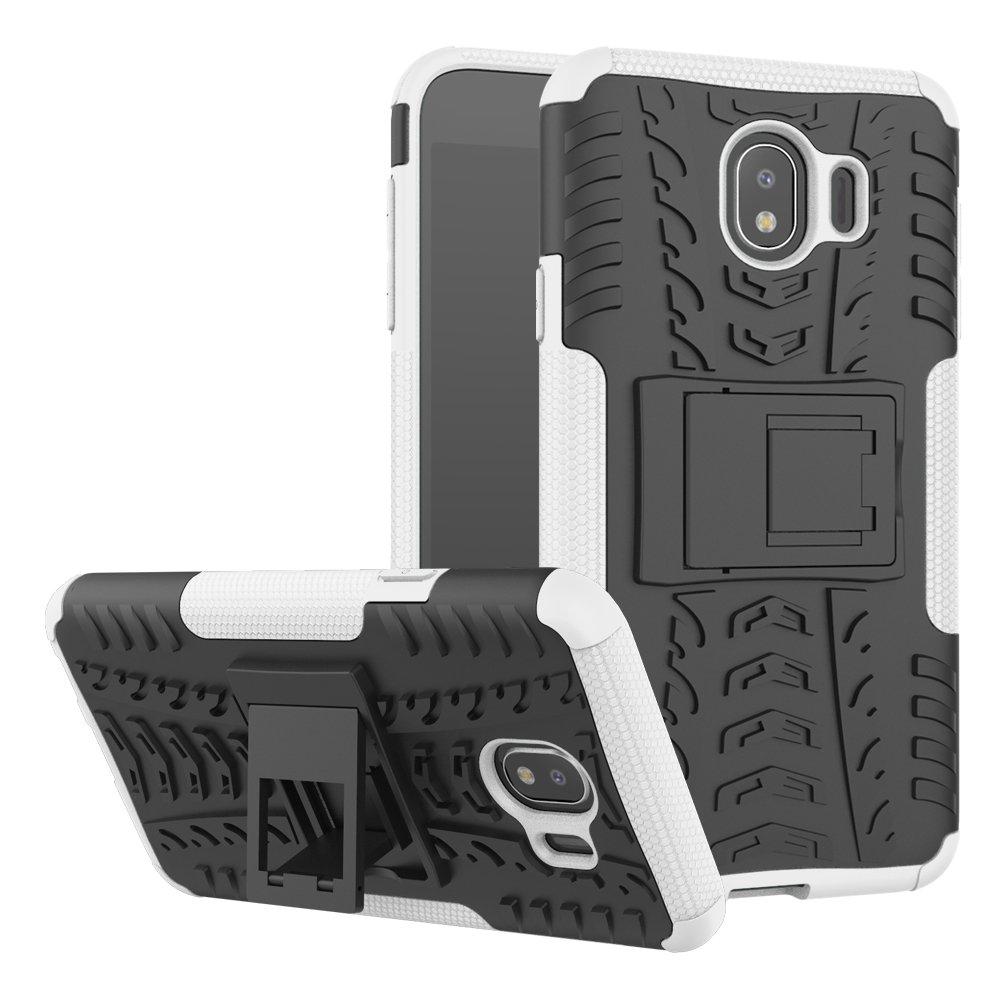 Azihone Samsung Galaxy J4 2018(UK) Funda,360 Grados Protección A Prueba de Choques Cubierta 2in1 TPC Carcasa Skin Case Cover Compatible Samsung Galaxy J4 2018(UK): Amazon.es: Electrónica