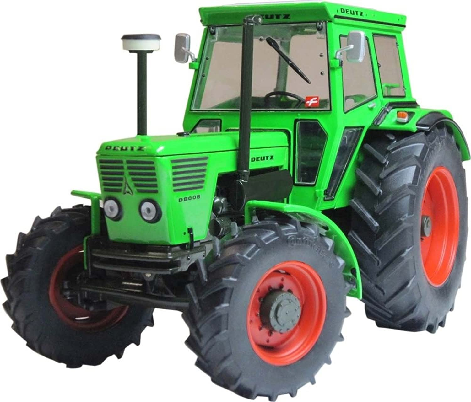 Weise-Toys 1039 FENDT DEUTZ D 80 06 (Version 1974-1978) (2016) Tractor Model, Multi-color
