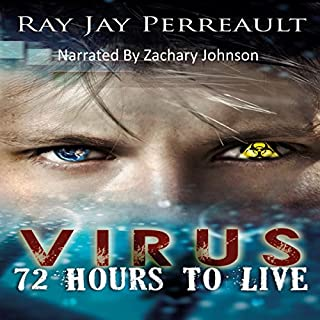 Virus: 72 Hours to Live audiobook cover art