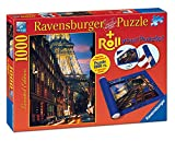 Ravensburger - Roll Your Puzzle + Puzzle 1000 Piezas, diseño París (19912 9)