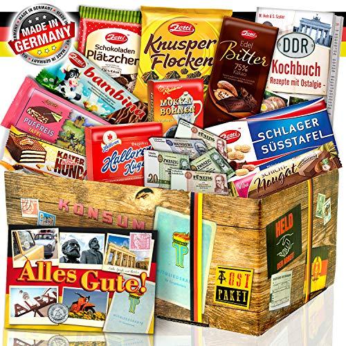 DDR Schokoladen Set / Geschenkidee für Sie Geburtstag
