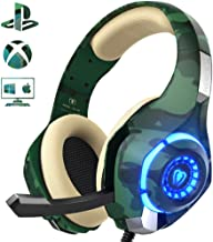 PS4 Gaming Headset with mic, Beexcellent Xbox One Headset with Stereo Sound Noise..