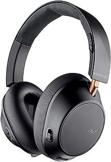 Plantronics BackBeat GO 810 Wireless Headphones, Active Noise Canceling Over Ear Headphones, Graphite Black