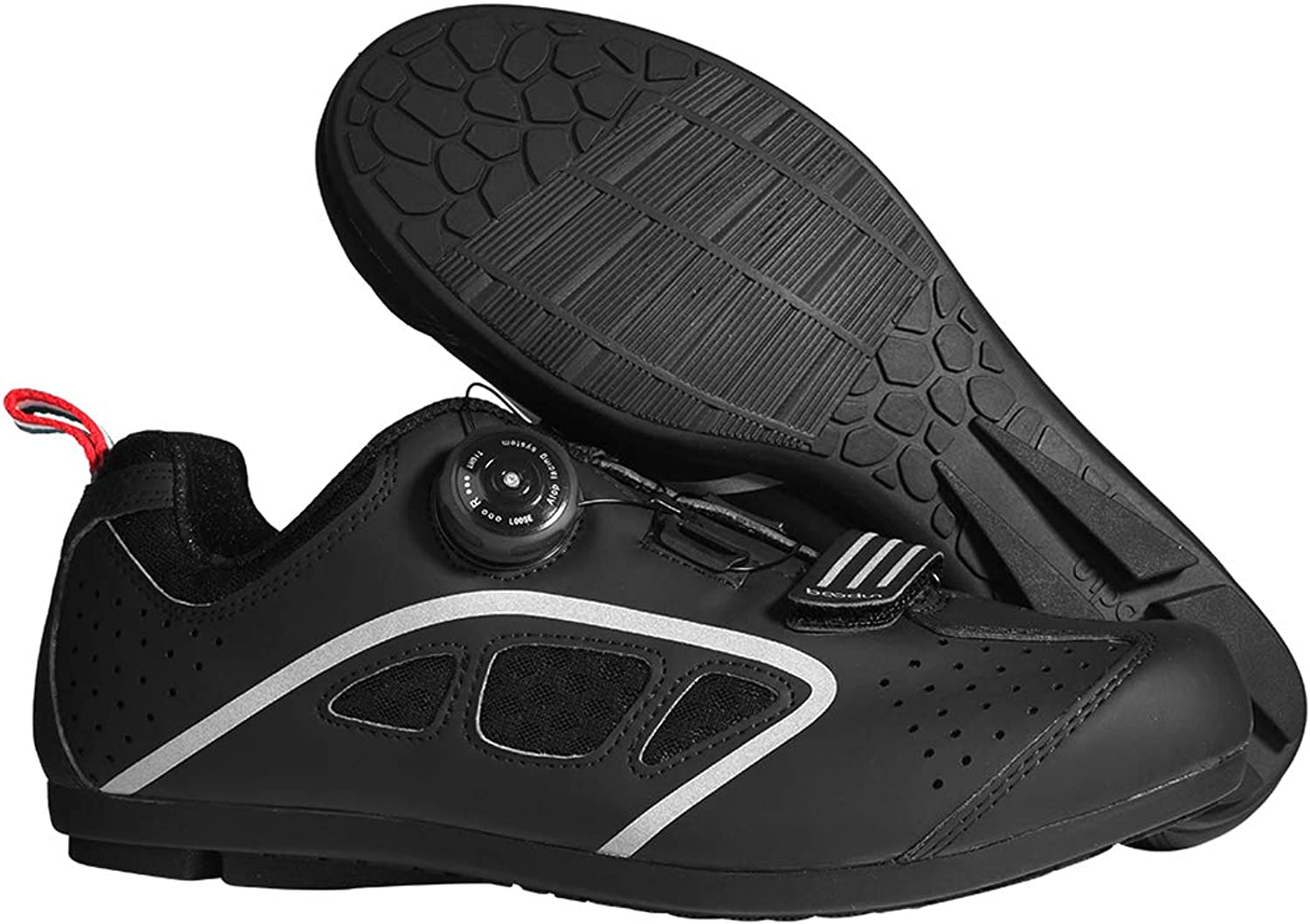 UBCA-BOODUN Breathable Men Cycling shoes Pro Self-Locking Bicycle Road Sneakers MTB Zapato
