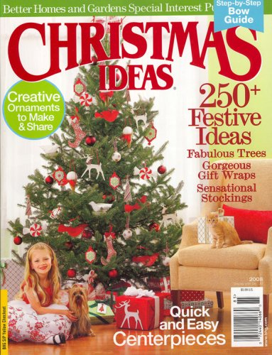 Better Homes And Gardens Special Interest Publications, Christmas Idea, 2008 Issue