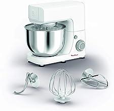مولينكس ماستر شيف 4.8 لتر آلة مطبخ , فضي/ابيض, ستانلس ستيل, بلاستيك، QA150127