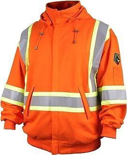 406096fac66 Revco Black Stallion TruGuard™ 200 FR Cotton Hooded (Safety Orange)  Sweatshirt