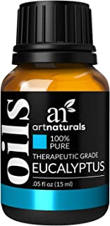 ArtNaturals 100% Pure Eucalyptus Essential Oil - (.5 Fl Oz / 15ml) - Therapeutic Grade Natural Oils - Includes Our Aromatherapy Signature Zen & Chi Blends