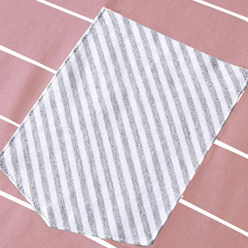 LEKODE Women T-Shirts Fashion Striped Long Sleeve Blouse