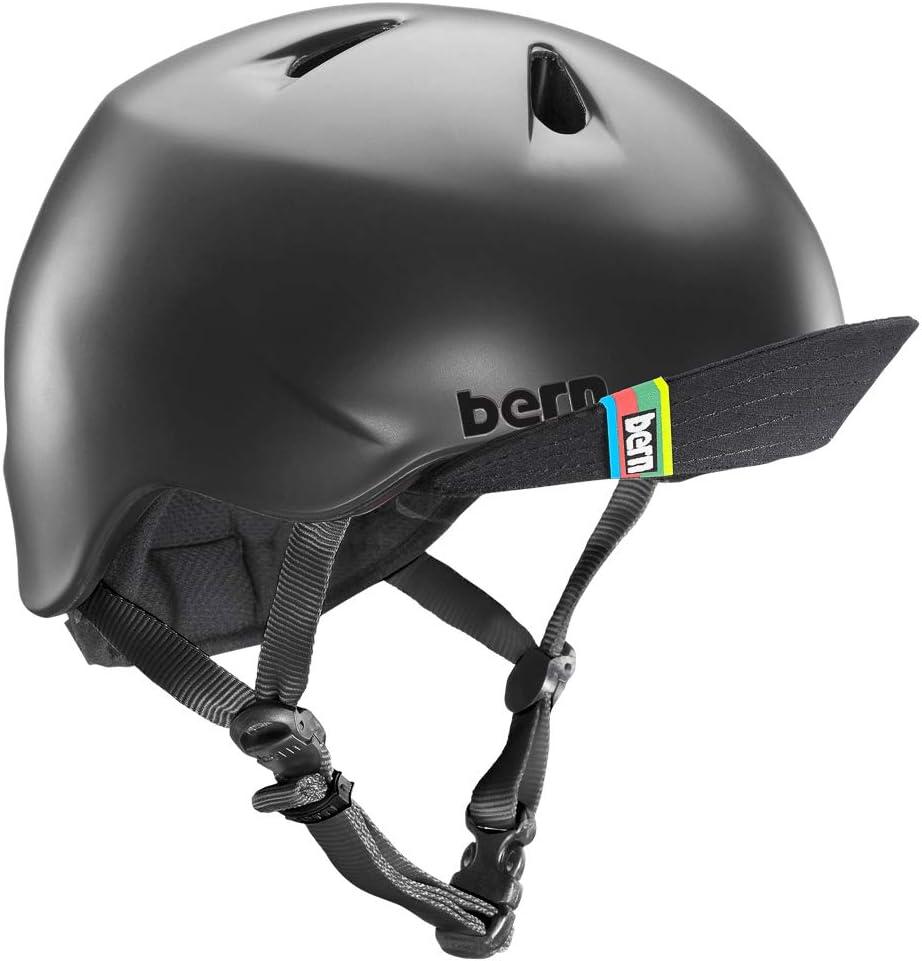 BERN Kids Nino Helmet with Flip Visor