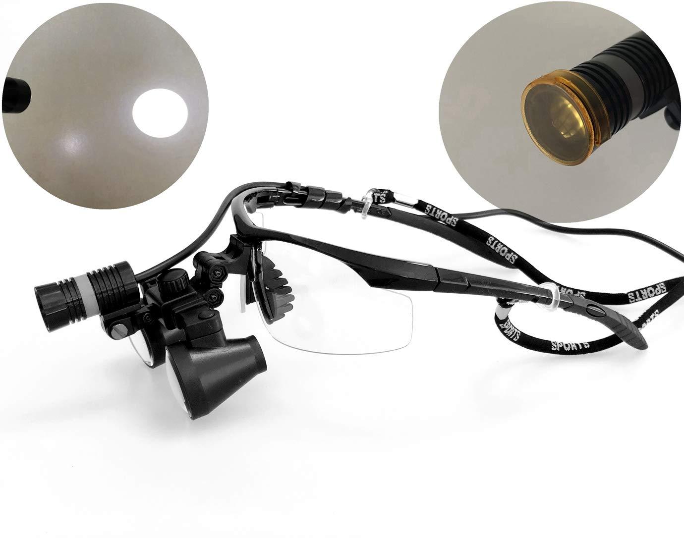 Songzi Optics 2.5X 3X 3.5X ! Super beauty product restock quality top! Spasm price Black Dent Optional Goggles Binocular
