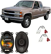 Compatible with Chevy CK Pickup 1988-1994 Front Dash Factory Replacement HA-R46 Speakers New