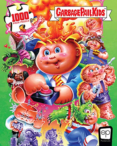 Garbage Pail Kids PuzzlePalooza 1000 Piece Jigsaw Puzzle | 35th Anniversary of GPK | Officially Licensed Garbage Pail Kids Merchandise | Collectible Puzzle Featuring Original GPK Favorites