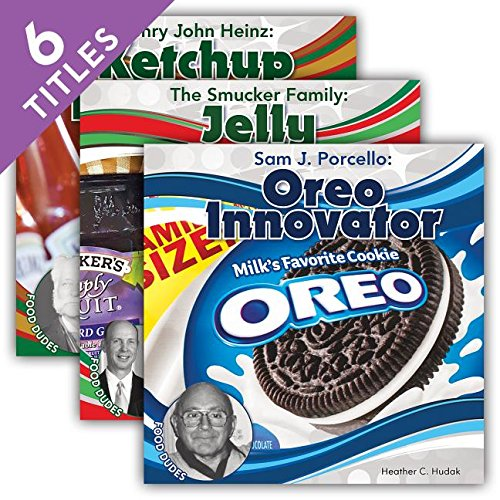 Food Dudes: S. Truett Cathy: Chick-fil-A Founder / Oscar F. Meyer: Hot Dog Manufacturer / Sam J. Porcello: Oreo Innovator / Henry John Heinz: Ketchup ... Creator / The Smucker Family: Jelly Pioneers