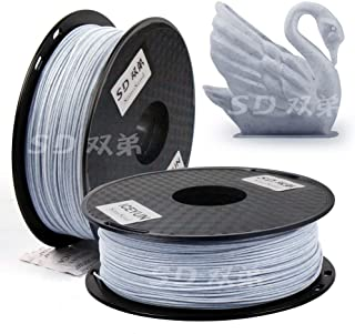 SD SimoSand Silk PLA 3D 3D Printer Filament, Marble PLA 1.75mm (1kg/2.2lbs marble)