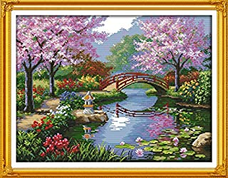 Best large print stamped cross stitch Reviews