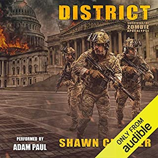District audiobook cover art