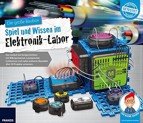 FRANZIS young Explorer Die große Baubox: Spiel und Wissen im Elektronik-Labor | Ab 8 Jahren