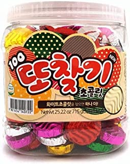 Korean Old School Coin Chocolate 715g, Malaysia 또찾기