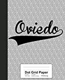 Dot Grid Paper: OVIEDO Notebook: 3567 (Weezag Dot Grid Paper Notebook)