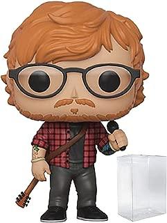 Funko Rocks: Ed Sheeran Pop! Vinyl Figure (Includes Compatible Pop Box Protector Case)